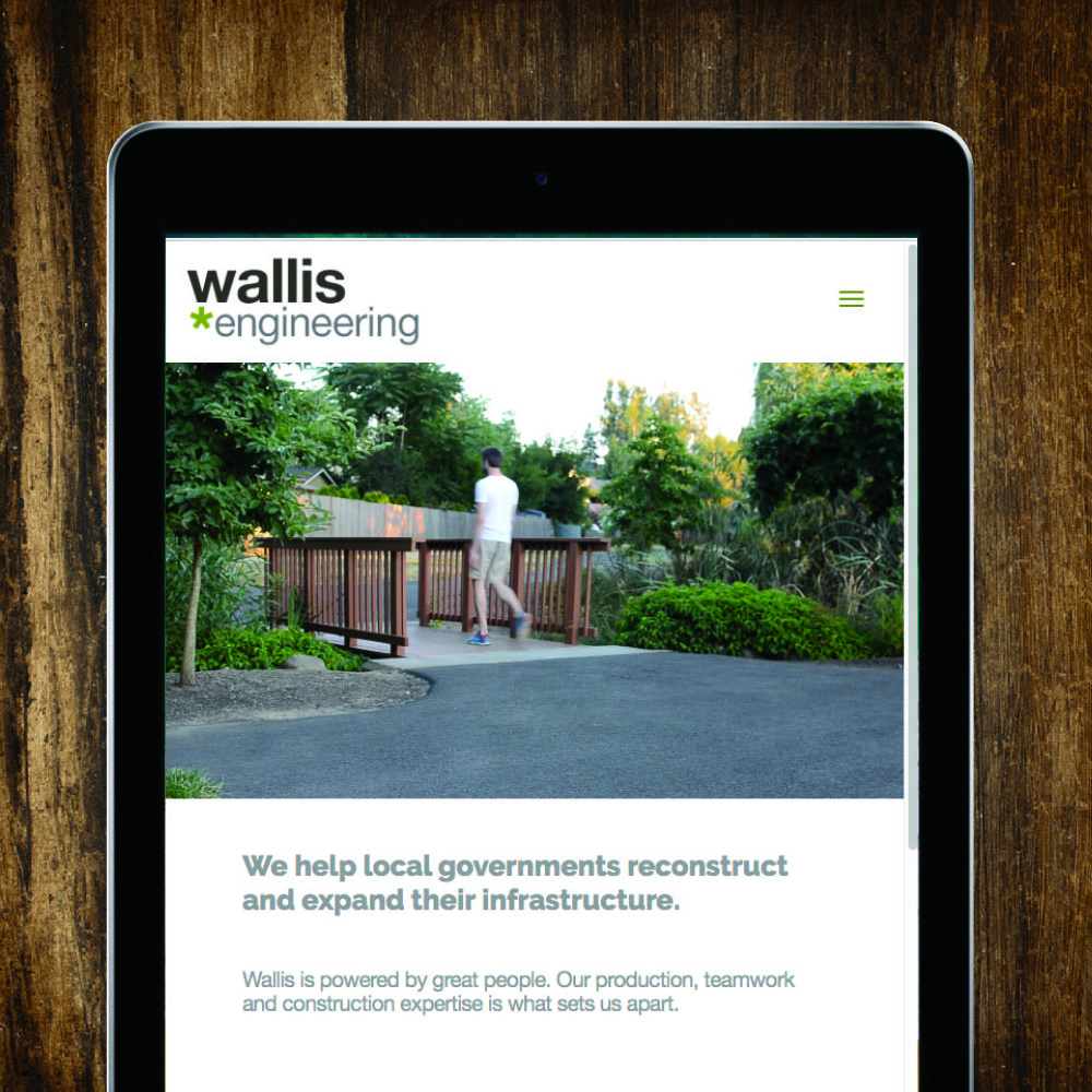 Wallis Engineering Website