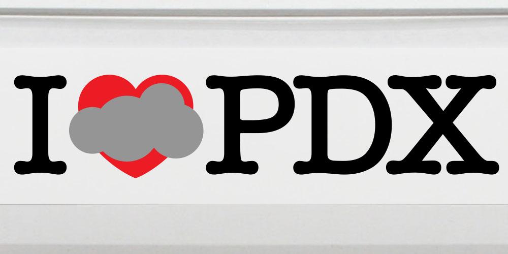PDX Sticker
