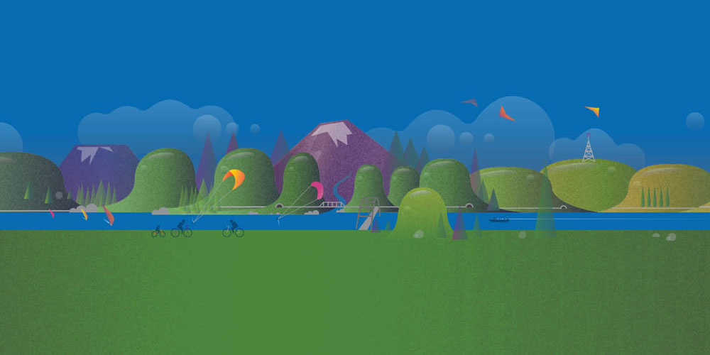 Gorge.net Community Illustration