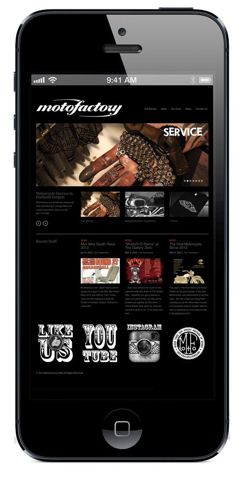 Motofactory Website